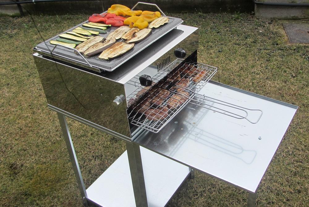 Griglie a gas da esterni ideali per giardini balconi e - La casa del barbecue brescia ...