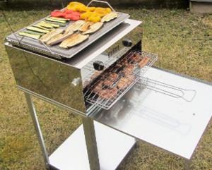 barbecue che non fa fumo - barbecue a gas no fumo - barbecue a gas con piastra in acciaio inox