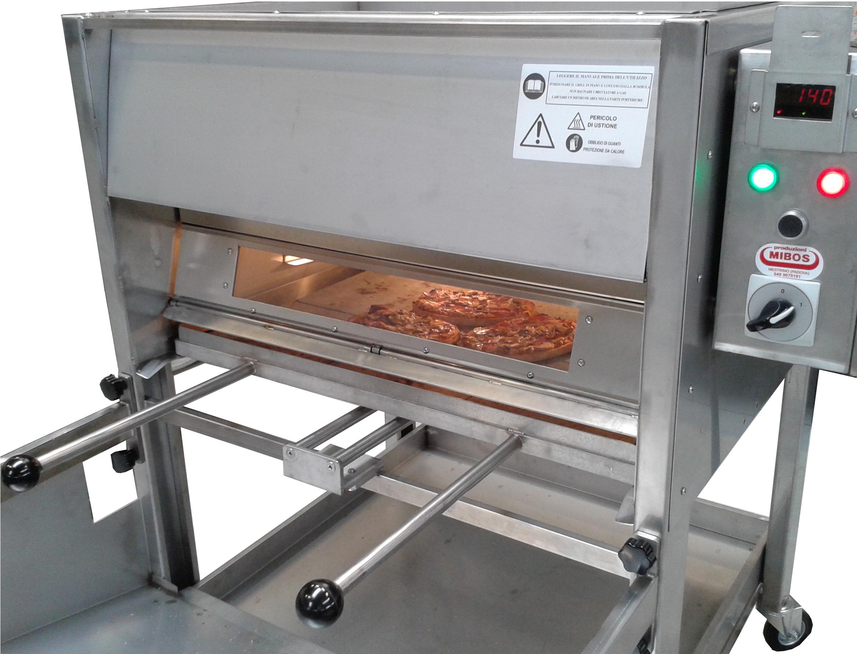 Bruschette cucinate con Mibos Grill - griglia a gas professionale - barbecue professionale per ristorazione