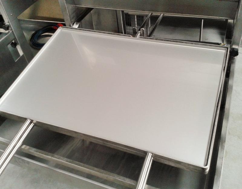 Griglie a gas per ristoranti mibos grill - Piastra in acciaio inox per cucinare ...