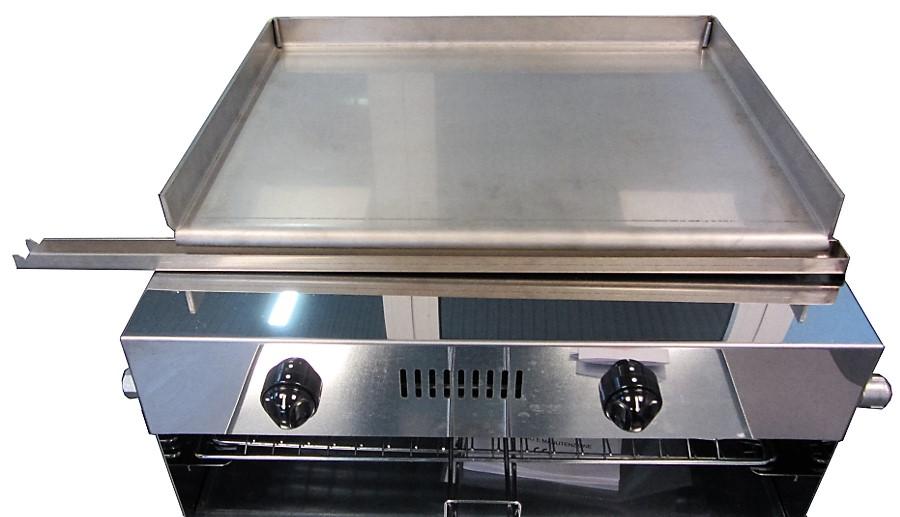 Griglia a gas inox griglia barbecue inox casa grill mibos - Piastra in acciaio inox per cucinare ...