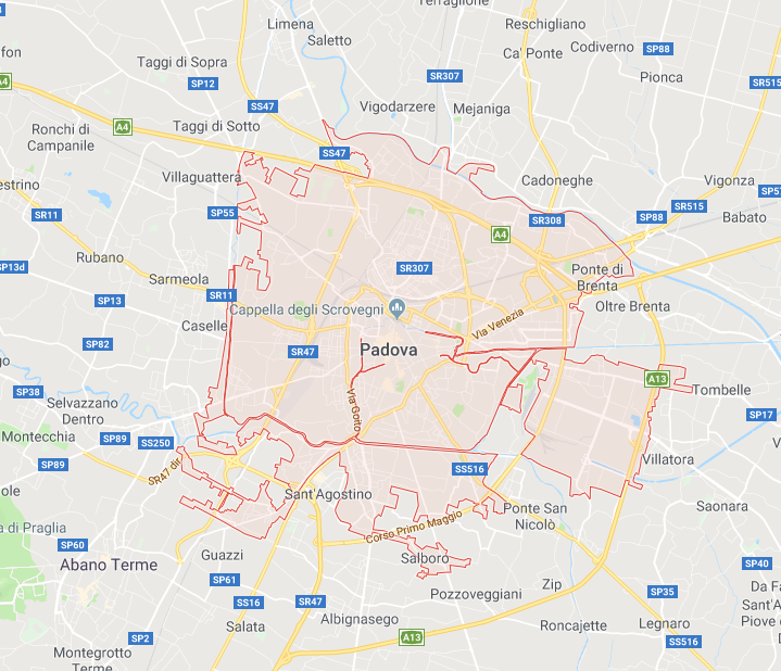 Noleggio griglie a gas a Padova