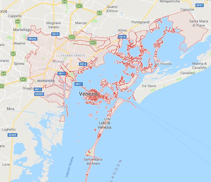 Noleggio griglie a gas a Venezia